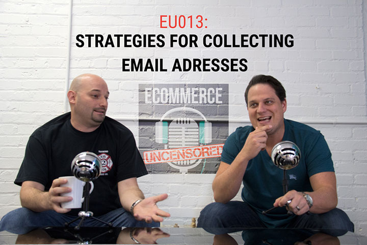 EU013: Strategies for Collecting Email Addresses