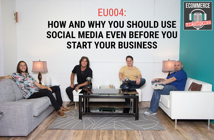 EU004: How and Why You Should Use Social Media Even Before You Start Your Business